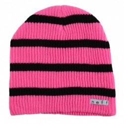 Gorro de lana NEFF Trio Blk/pink