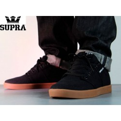 Zapatillas SUPRA Stacks Black/Gum