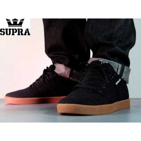 Zapatillas SUPRA Stacks Black/Gum
