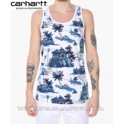 Camiseta de Tirantes CARHARTT Homerun Blanca