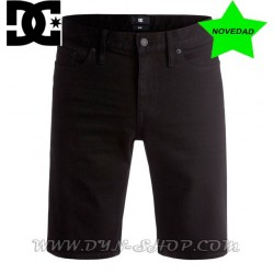 Bermudas DC SHOES Washed Slim Blk