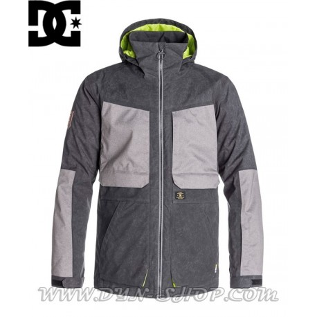 Chaqueta Snow DC SHOES Kingdom Grey