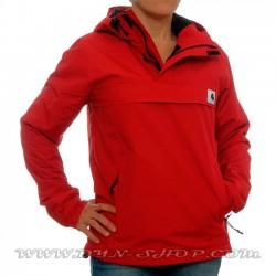 canguro rojo carhartt mujer