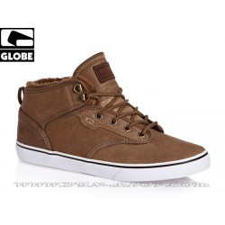 Zapatillas GLOBE Motley Mid Marrron