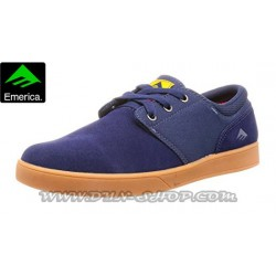 Zapatillas EMERICA The Figueroa Navy/gum