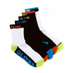 Calcetines GLOBE Destroyer 5 pack