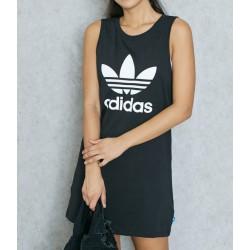 Vestido ADIDAS Trf Black