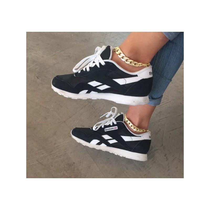 Zapatillas Reebok Classics Negras Para Mujer Baratos