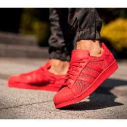 Zapatillas SUPERSTAR ADIDAS Rojas