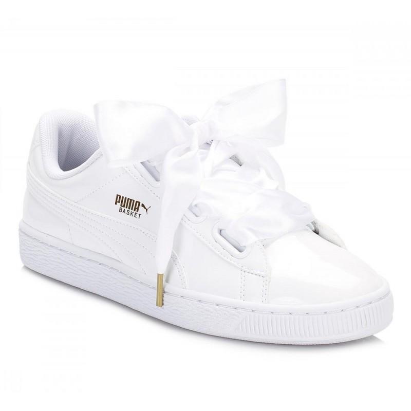 zapatillas puma basket blancas