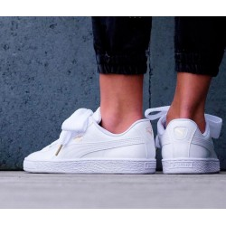Zapatillas PUMA Basket blancas