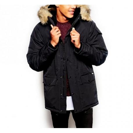 Abrigo carhartt negro