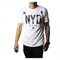 Camiseta NYD WEAR Stars Man Blanca