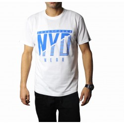 Camiseta NYD WEAR Icon White Blue