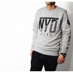 Sudadera NYD WEAR icon Grey