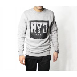Sudadera NYD WEAR Square Stars Grey