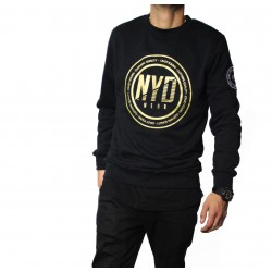 Sudadera NYD WEAR Gold Circle Black