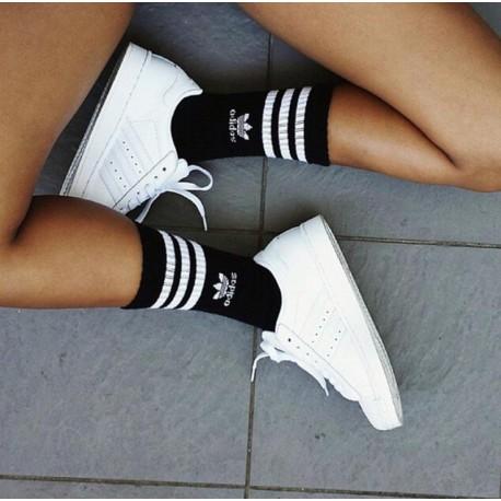cambiar ~ lado Auroch  Calcetines Algodon Negros| Calcetines de marca Adidas| Tienda Online