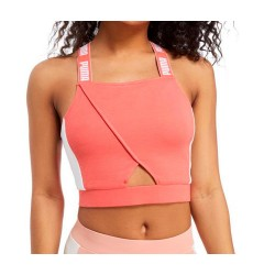 Top PUMA Archive Crop Top Coral