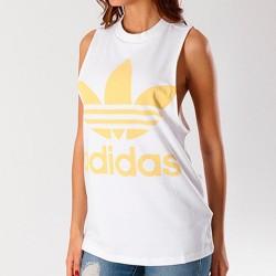 Camiseta ADIDAS Trefoil Tank Wht/sand