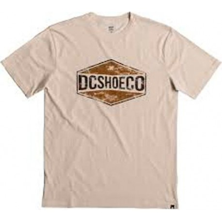 Camiseta DC SHOES Bird Of Prey Beis