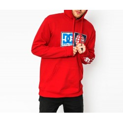 Sudadera DC SHOES Global Salute Red