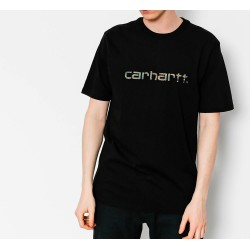 Camiseta CARHARTT WIP Script Blk/Camo