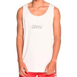 Camiseta GRIMEY Tirantes MANGUSTA Tank White
