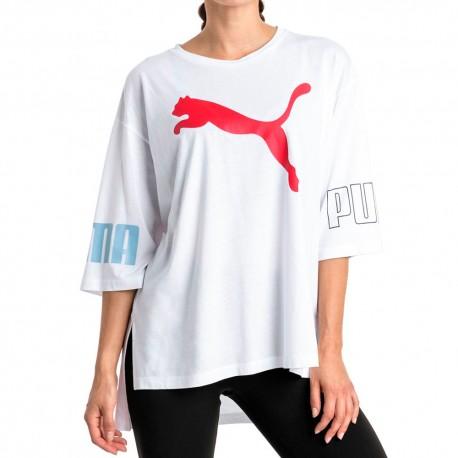 Camiseta PUMA Modern Sport Logo White