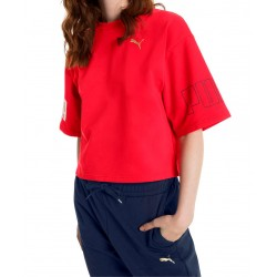 Camiseta PUMA Modern Sports Tee Ribbon Red