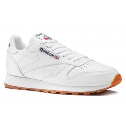Zapatillas REEBOK Classic Leather Wht/Gum Men
