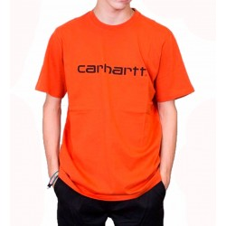 Camiseta CARHARTT Wip Script Persimmon