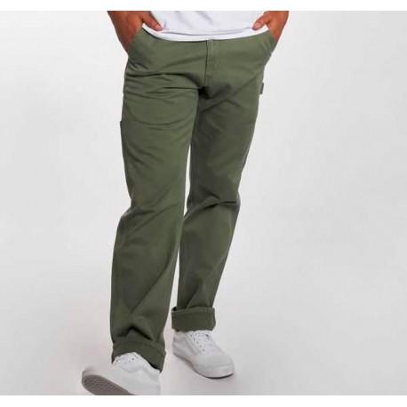 zapatos deportivos 1fc7e 74490 Pantalones CARHARTT Wip de tela en color verde. Pantalon Clasico Hombre