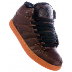 Zapatillas OSIRIS Convoy Mid Brown/Black