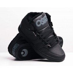 Zapatillas OSIRIS Convoy Mid Black/Charcoal