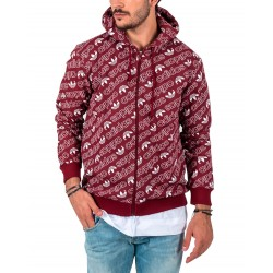 Chaqueta ADIDAS ORIGINALS Monogram Burgundy