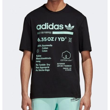 Camiseta ADIDAS ORIGINALS Kaval Tee Black
