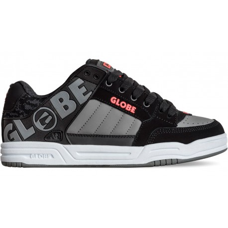 Zapatillas GLOBE Tilt Black/Red/Grey