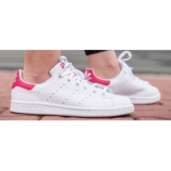 Zapatillas ADIDAS Stan Smith J Wht/Pink