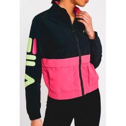 Chaqueta FILA Miguela Track Jacket Blk/Pink