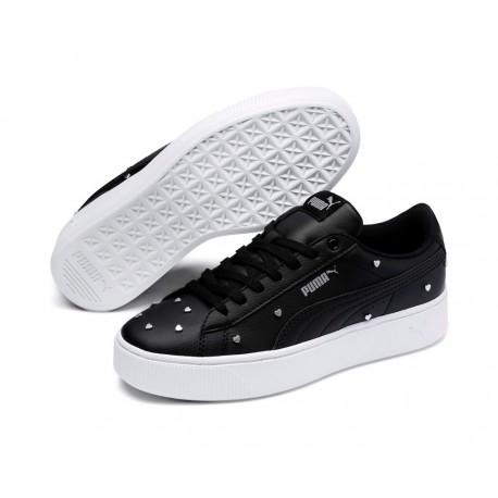 zapatos elegantes Venta de liquidación 2019 gran ajuste Calzado Puma Vikky Platform negros. Zapatillas de moda para mujer Puma