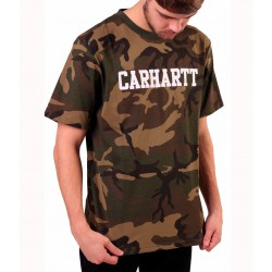 Camiseta CARHARTT Collage Camo/White