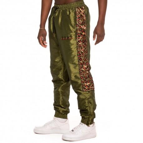 Pantalon GRIMEY Midnight Chameleon Track Pant SS19 Green