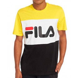 Camiseta FILA Men Day Tee Yellow