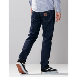 Pantalon CARHARTT WIP Klondike Blue Rinsed