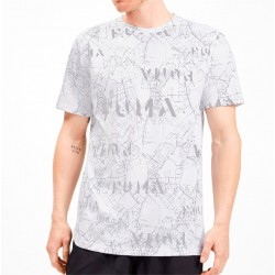 Camiseta PUMA Amplified White