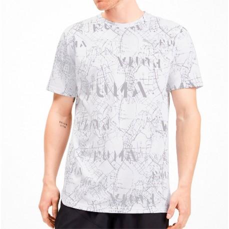 Camiseta PUMA Amplified White