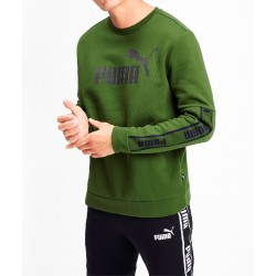 Sudadera PUMA Amplified Crew FL Green