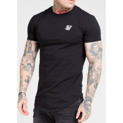 Camiseta SIKSILK Core Gym Black
