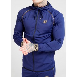 Chaqueta SIKSILK Scope Cartel Navy